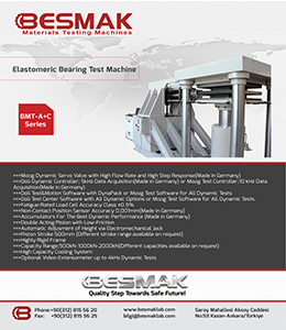 Elastomeric Bearing Test Machine